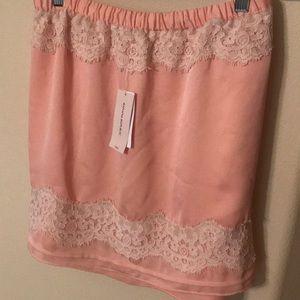 New w/tags Banana Republic silk mini-skirt